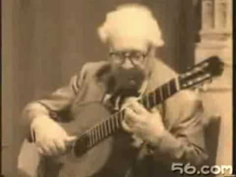 Andres Segovia : Bach Prelude BWV 1007