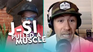 How Did J-Si Pull a Muscle?