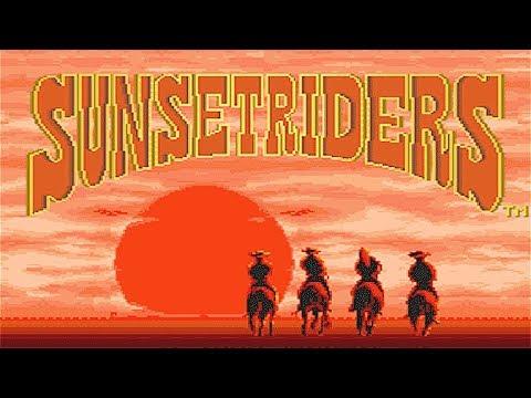 SUNSET RIDERS (1991) - VICIO RETRO | Gameplay Español