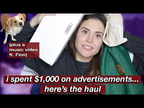 """UNBOXING ITEMS FROM """"Buying Every Advertisement I See"""""""