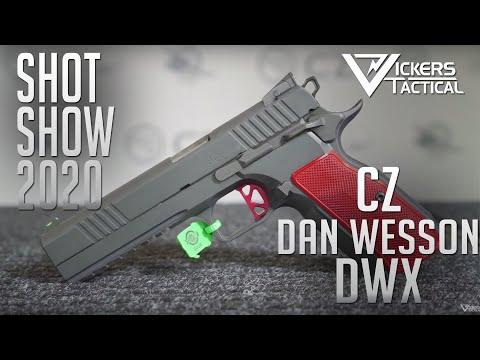 SHOT SHOW 2020 -  CZ Dan Wesson DWX