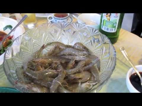 Drunken Shrimp! - YouTube