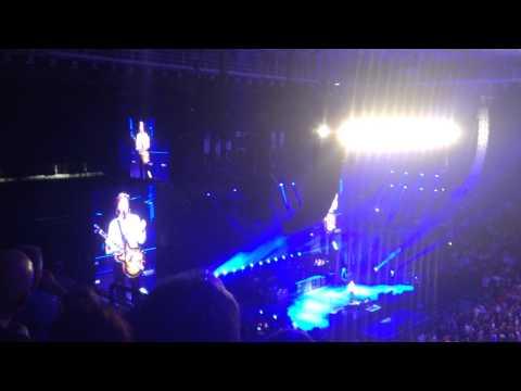 Paul McCartney - Lubbock TX - Paul talks about Jimi Hendrix