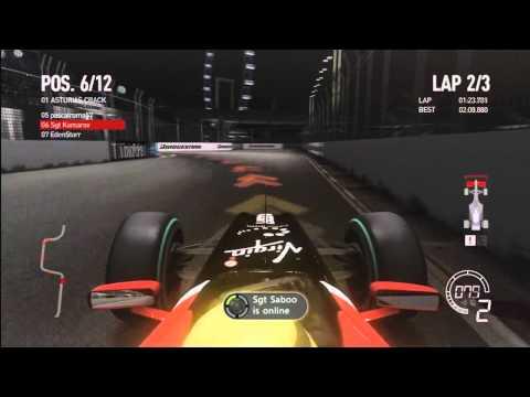 F1 Game 2010 Singapore Race