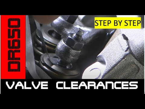 MCHP Ep9: Valve clearances (DR650) Asjustable valve