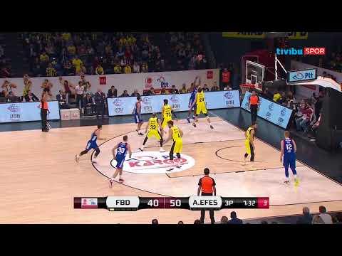 PTT Türkiye Kupası I Fenerbahçe Doğuş 80-83 Anadolu Efes Özet
