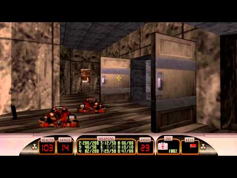 Let's Play Duke Nukem 3D Megaton E16 Shrapnel City Map 7-9