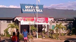 Pertandingan Voly Dangdut Di Rutan Larantuka