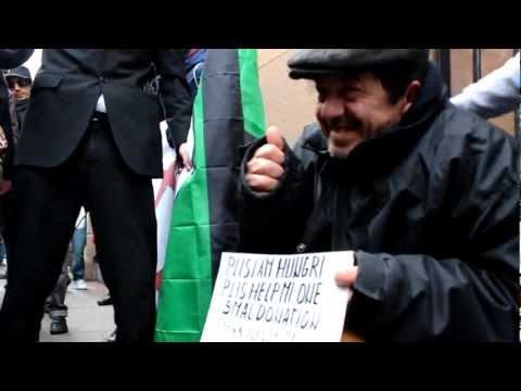 Anonymous makes homeless man cry. (Original)