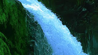 White Noise Waterfall for Sleep, Focus, Studying, Soothe a Baby   Water Sounds 10 Hours