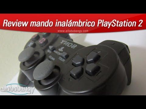 Mando inalámbrico para PlayStation 2 (PS2). Review en español!