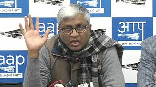 Aap Leaders Brief Media on 2G  Scam Verdict