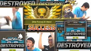 Livestream Highlights: MapleStorySEA road to 20 Star Force BOOMBOOMBOOM