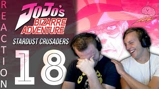 SOS Bros React - JoJo's Bizarre Adventure Part 3 Episode 18 - PRAISE THE SUN!!