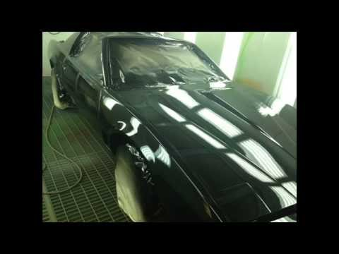 1982 Pontiac Firebird Transformation Into Kitt From Knight Rider video