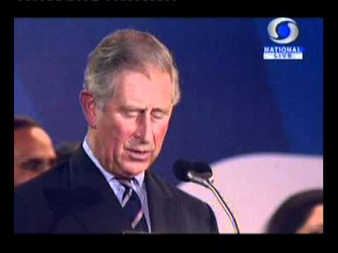Commonwealth Games India 2010 Opening Ceremony   Prince Charles`s Speech