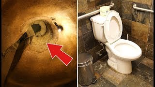 When an Italian Guy Went to Repair His Toilet, He Unearthed an Ancient Underground Complex