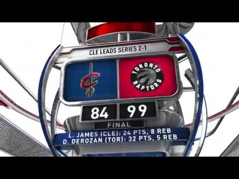 Cleveland Cavaliers vs Toronto Raptors - May 21, 2016