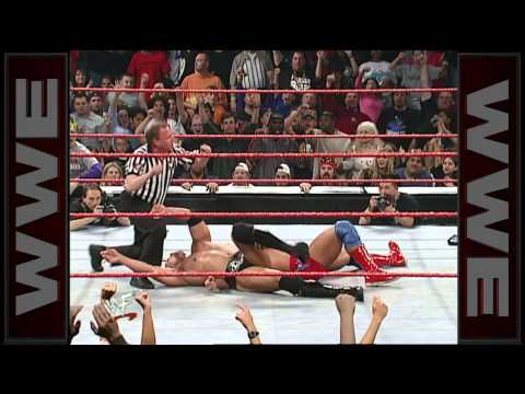 Kurt Angle vs. The Rock - WWE Championship...