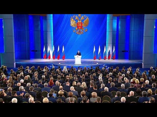 О чём Путин говорил в послании Федеральному собранию