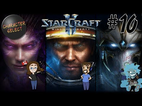 Starcraft 2: Wings of Liberty Part 10 - Share The Vision - CharacterSelect