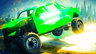 GTA 5 Funny Moments - Car Wreckage Race - (GTA V Online Gameplay)