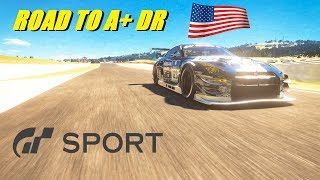 GT Sport Road To A+ DR US Account