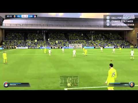 FIFA 15 TFS Serie A - Villarreal vs. Lokomotiv Moscow