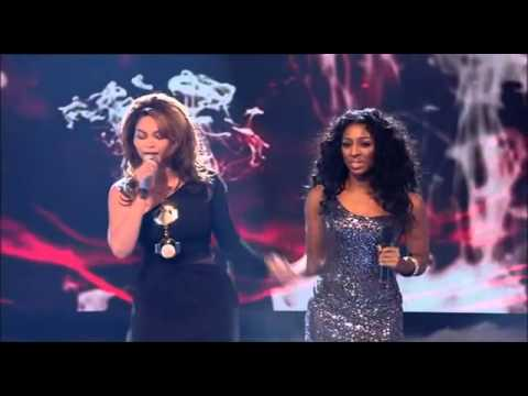 Alexandra Burke ft Beyonce Listen X Factor 2008 Performance)avi