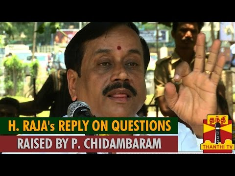H. Raja's Reply on