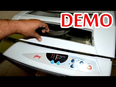 Godrej WT 600C 6 Kg Fully Automatic Top Loading Washing Machine REVIEW