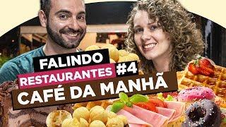 Falindo restaurantes #4 - Café da manhã no Caramella Café!