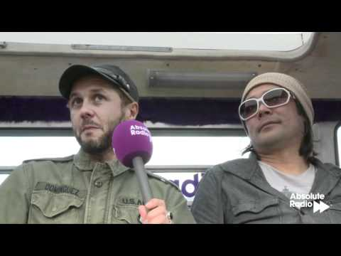 Feeder interview at Isle of Wight Festival 2012