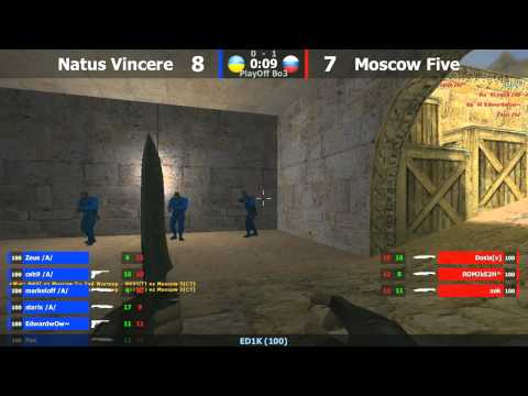 ESWC PlayOFF : M5 vs. Na`Vi @ dust2