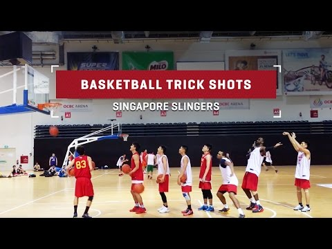 Trick Shot Basketball by Singapore Slingers