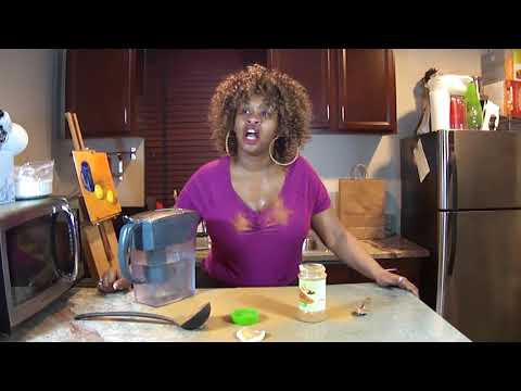 The Cinnamon Challenge ... by GloZell and her Big Behind Earrings