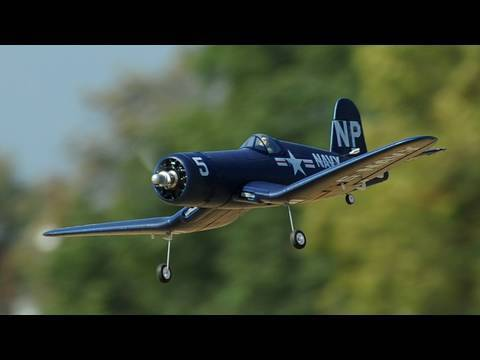 Extremely Detailed 4ch 2.4ghz F4U Corsair 800mm Warbird