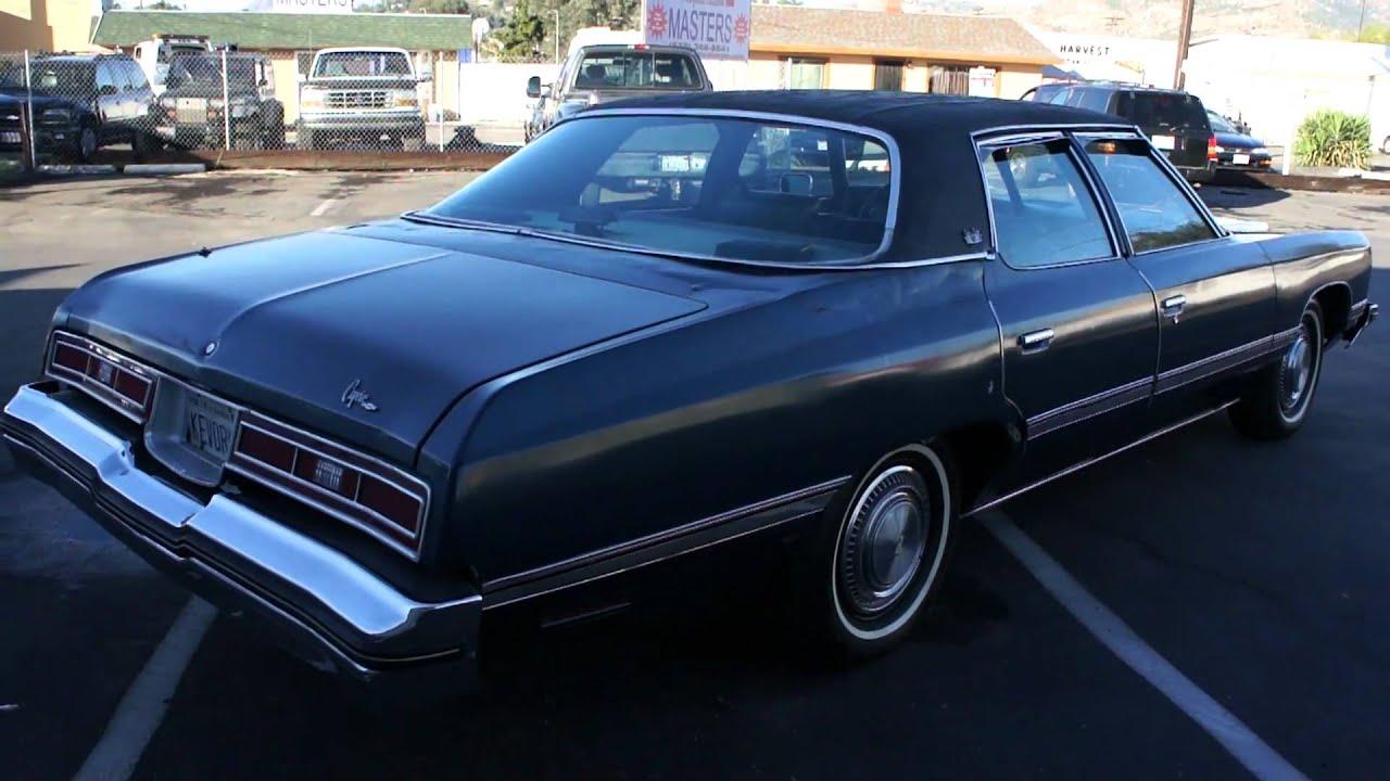 1974 Chevrolet Caprice Classic Impala Malibu Donk Glass
