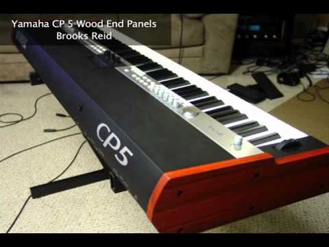 Yamaha cp5 wood end panels youtube for Yamaha cp50 review