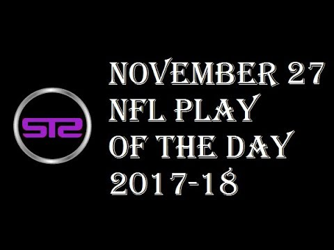Week 12 - November 27, 2017 - NFL Pick of The Day - Today NFL Picks ATS Tonight - 11/27/17