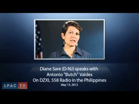 Candidate Diane Sare (NJ-5) on Philippine Radio May 13, 2012