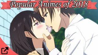 Top 25 Popular Animes of 2018