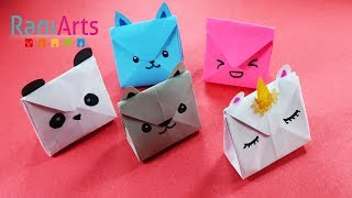 download musica DIY - BOLSAS DE PAPEL KAWAII - CUTE PAPER HANDBAGS - FÁCIL - EASY