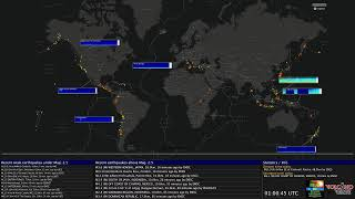 Seismic Worldmap Live - MultiView