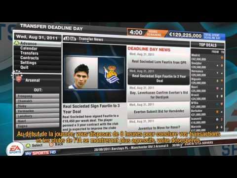 FIFA 12 - Le mode Carrière part 2 : les transferts