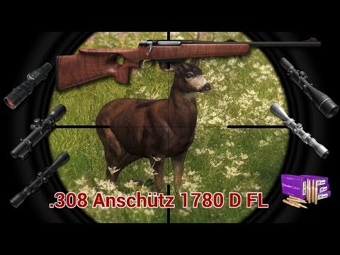 Review .308 Anschütz 1780 D FL Bolt Action Rifle (The Hunter) English [HD]