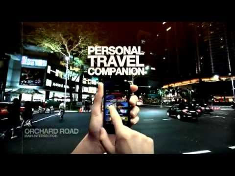 Singapore Tourism Board App Launch Promo