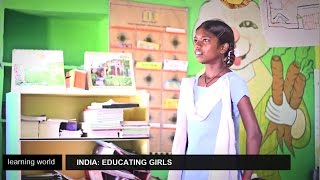 """""""Educate The Girls"""" brings Indian schoolgirls back to class (Learning World: S5E06, part 3/3)"""