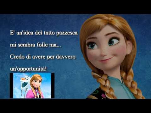 Oggi per la prima volta (dal film Frozen) - Karaoke