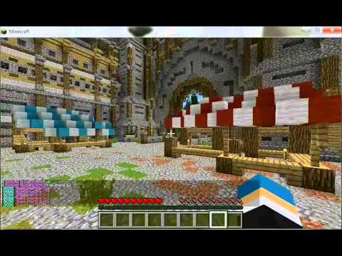 minecraft bosscraft 1.5.2 server (hunger games #1)